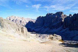 Dolomity, italská milenka